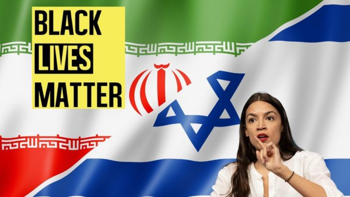Iran pulls the puppet strings of HAMAS, BLM, AOC, and the Biden Administration to attack Israel