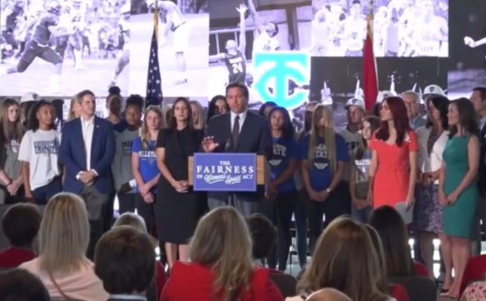 Florida Governor Desantis signs bill to protect women's sports