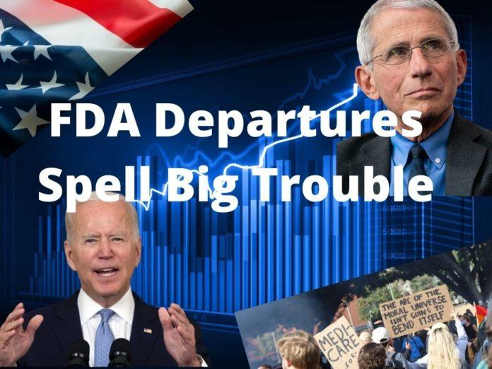 FDA Leadership depart for politics